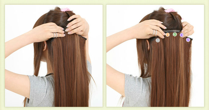 Những lưu ý cơ bản khi mua tóc giả kẹp tóc thật