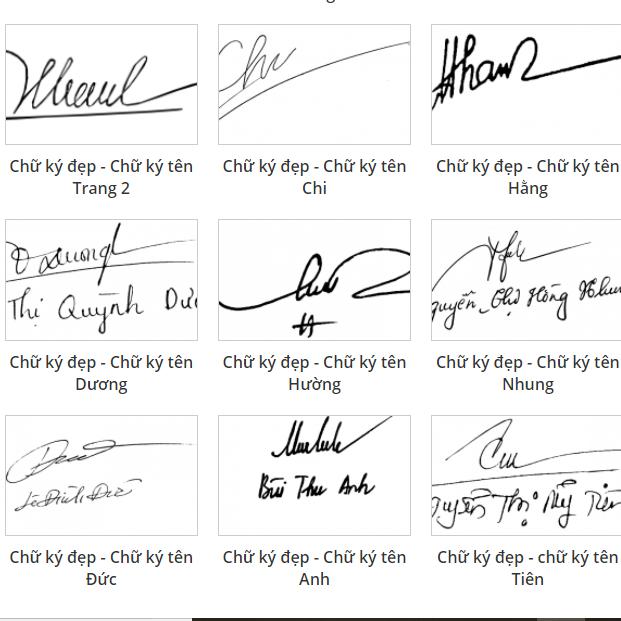 Cách tạo chữ ký phong thủy theo tên của mình bạn nên học hỏi