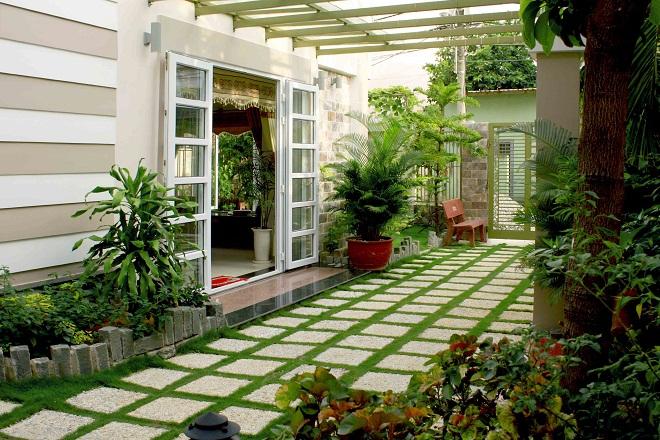 Cực mãn nhãn 3 mẫu sân vườn đẹp đơn giản