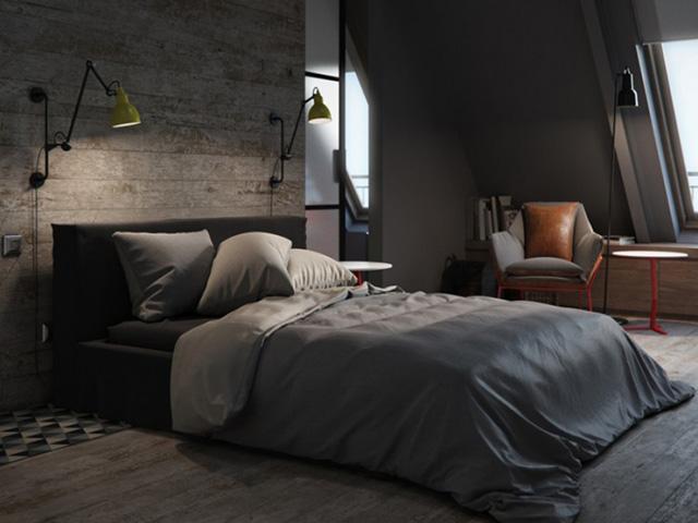 Những mẫu trang trí phòng ngủ đẹp cho nam và một số lưu ý nhỏ khi thiết kế