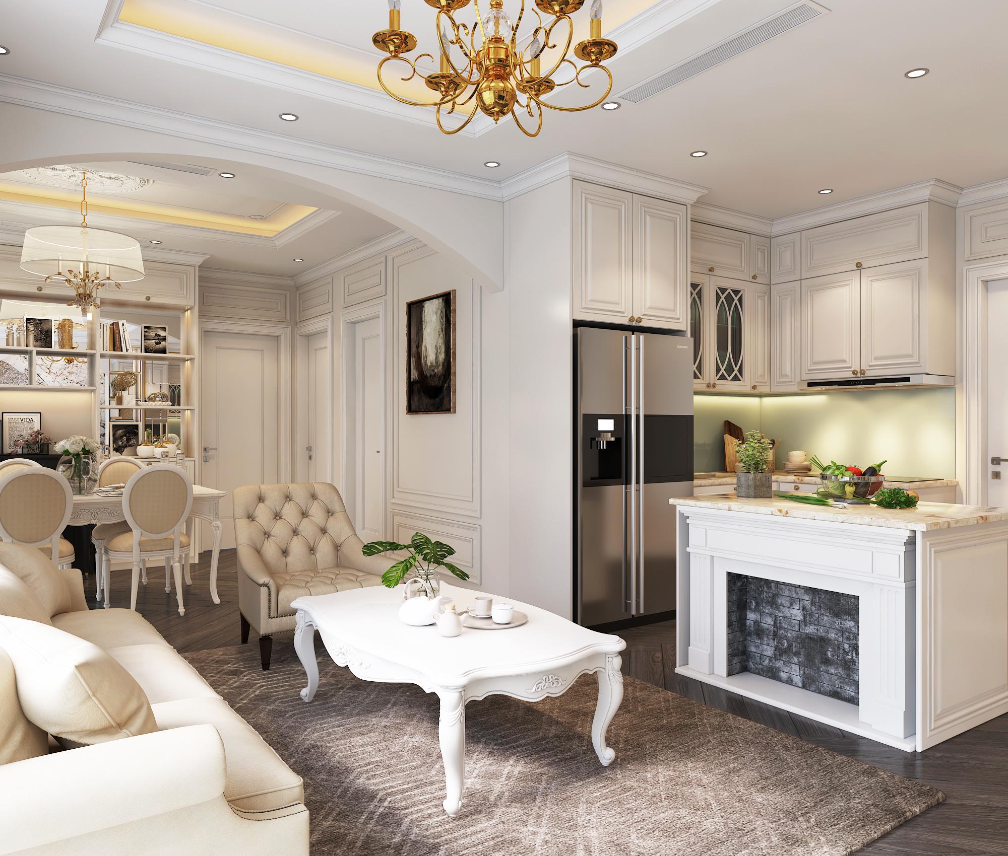 Những mẫu thiết kế nội thất chung cư cao cấp mà bạn có thể chưa biết