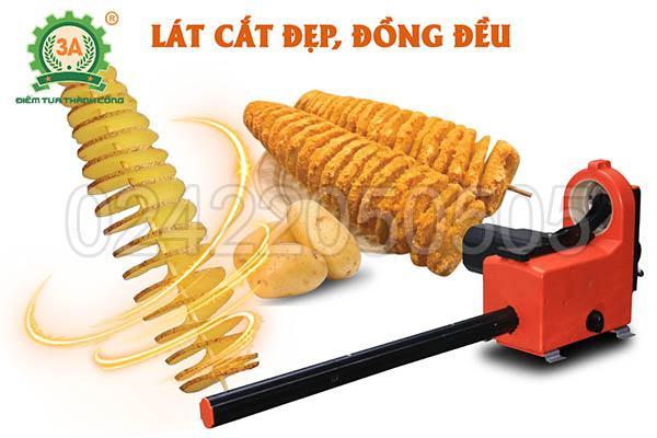 Tư vấn: Mua máy cắt khoai tây lốc xoáy ở đâu tốt nhất
